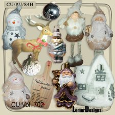 CU Vol 702 Christmas by Lemur Designs