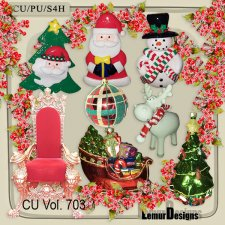 CU Vol 703 Christmas by Lemur Designs