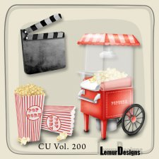 CU Vol 200 Cinema Elements Pack 1 by Lemur Designs