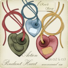 Action - Pendant Heart by Rose.li