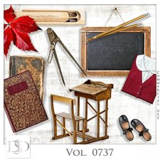Vol. 0737 School Mix by D's Design