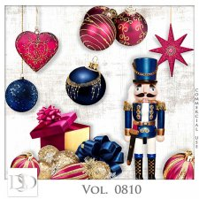 Vol. 0810 Winter Christmas Mix by D's Design