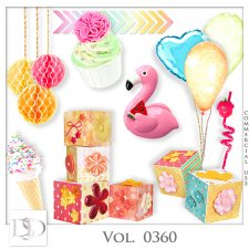 Vol. 0360 Party Mix by D's Design