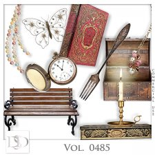 Vol. 0485 Vintage Mix by D's Design