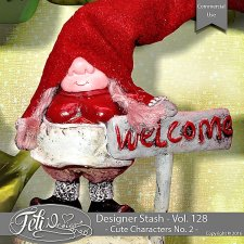 Designer Stash Vol 128 - Cute Characters No 2 by Feli Designs