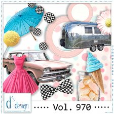 Vol. 970 Fifties Mix by Doudou Design