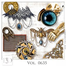 Vol. 0635 Steampunk Mix by D's Design