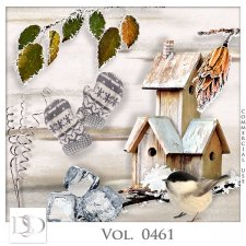 Vol. 0461 to 0464 Winter Mix by D's Design