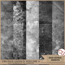 Grunge Genius Volume Six by Mad Genius Designs
