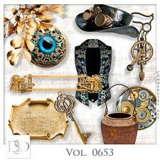 Vol. 0653 Steampunk Mix by D's Design
