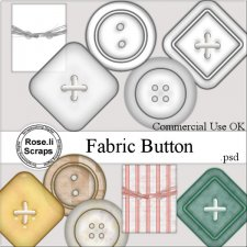 Fabric Button by Rose.li