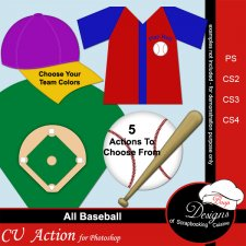 Baseball ACTION by Boop Designs