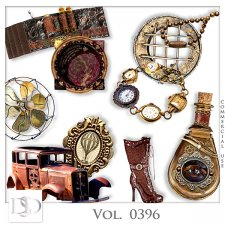 Vol. 0396 Steampunk Mix by D's Design
