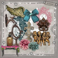 Vol 83 antique Elements EXCLUSIVE byMurielle