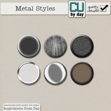 Metal Styles - CUbyDay EXCLUSIVE
