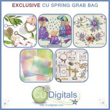 CU Scrap Bag EXCLUSIVE SPRING Scrap Grab Bag