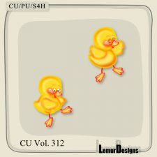 CU Vol 312 Easter Duck by Lemur Designs