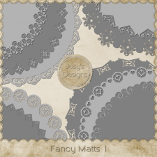 Fancy Matts PNG Templates 1 by Josy