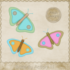 Butterfly Action 11 by Josy