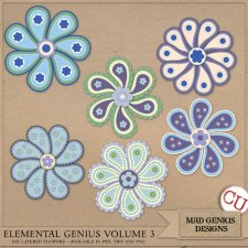 Elemental Genius Volume Three by Mad Genius Designs