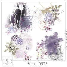 Vol. 0525 Vintage Accents by D's Design