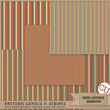 Pattern Genius Paper Volume Nine by Mad Genius Designs