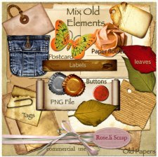 Mix Old Elements by Rose.li