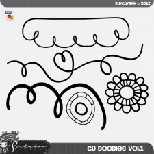 CU Doodles vol 01 by Peek A Boo Designs