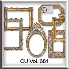 Vol. 681 Frames Set by Doudou Design