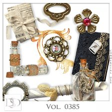 Vol. 0384 to 0388 Vintage Mix by D's Design
