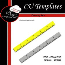 Ruler - CU TEMPLATE by Boop Designs