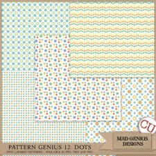 Pattern Genius Paper Volume Twelve by Mad Genius Designs