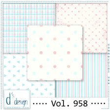 Vol. 958 Fifties papers by Doudou Design