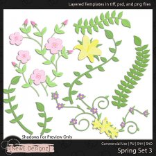 EXCLUSIVE Layered Spring Templates Set 3 by NewE Designz