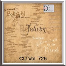 Vol. 726 Autumn WordArts by Doudou Design