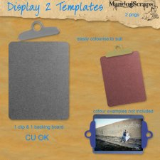 Display Board 2 Template by Mandog Scraps