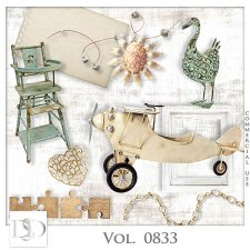 Vol. 0833 Vintage Mix by D's Design