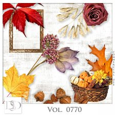 Vol. 0770 Autumn Nature Mix by D's Design
