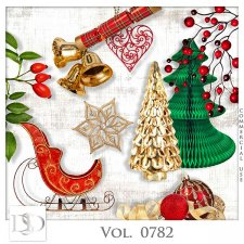 Vol. 0782 Winter Christmas Mix by D's Design