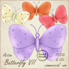 Action - Butterfly VII by Rose.li