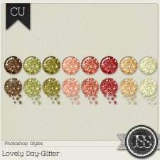 Lovely Day Glitter PS Styles by Just So Scrappy
