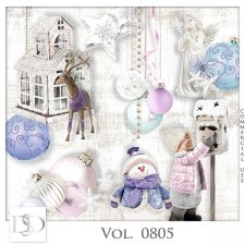 Vol. 0805 Winter Christmas Mix by D's Design