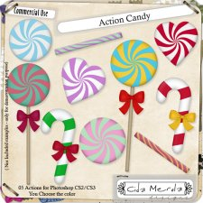 Candy Action by Cida Merola