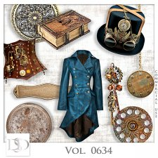 Vol. 0634 Steampunk Mix by D's Design