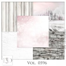 Vol. 0595 to 0597 Winter Papers by D's Design