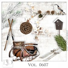 Vol. 0607 Winter Mix by D's Design