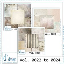 Vol. 0022 to 0024 Vintage Papers by Doudou Design