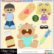 Immunization Dr Visit - EXCLUSIVE TEMPLATES