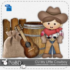My Little Cowboy Pattern Layered Template by Peek a Boo Designs