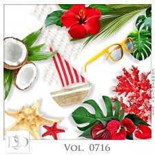 Vol. 0716 Tropical Sea Mix by D's Design